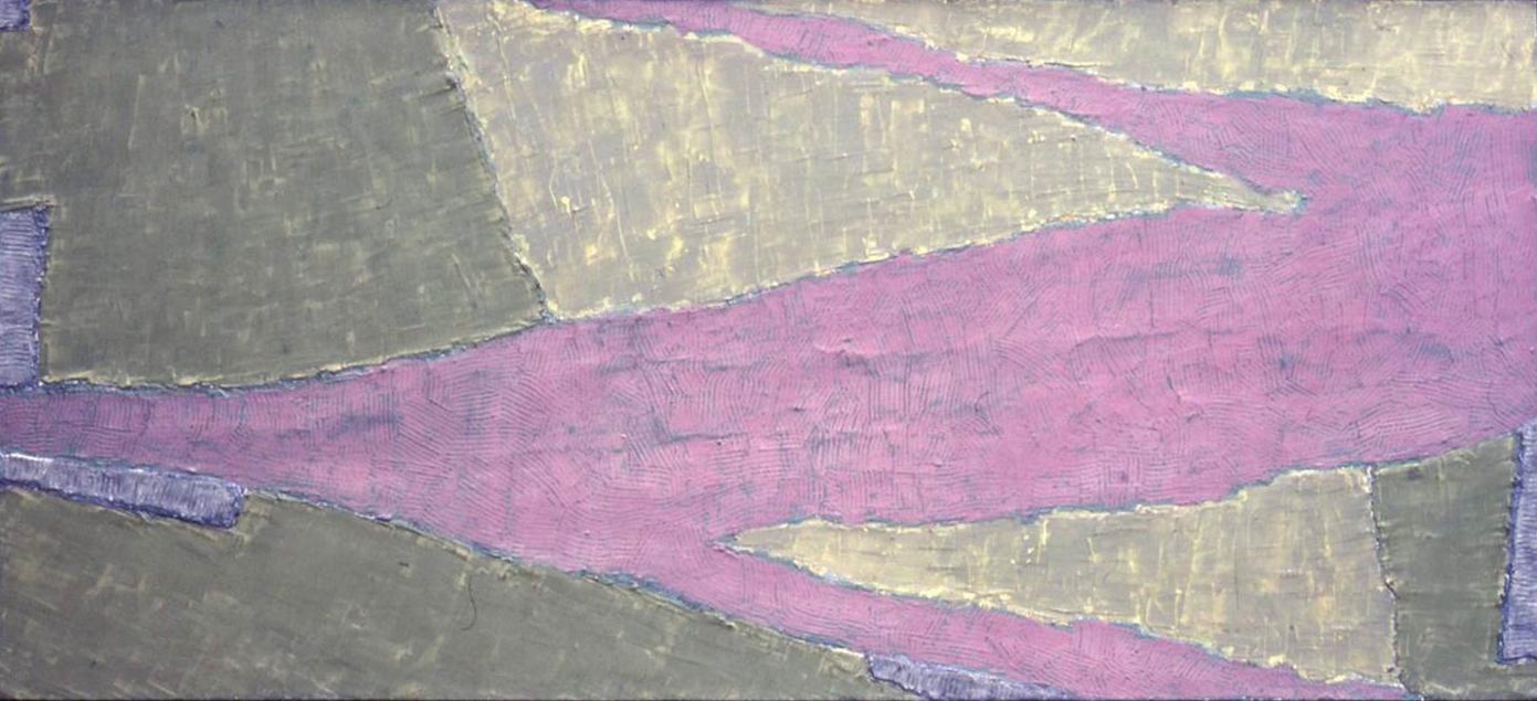 kleurtoonstelling groen geel violet 1968