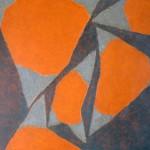 kleurtoonstelling rood grijs 1968
