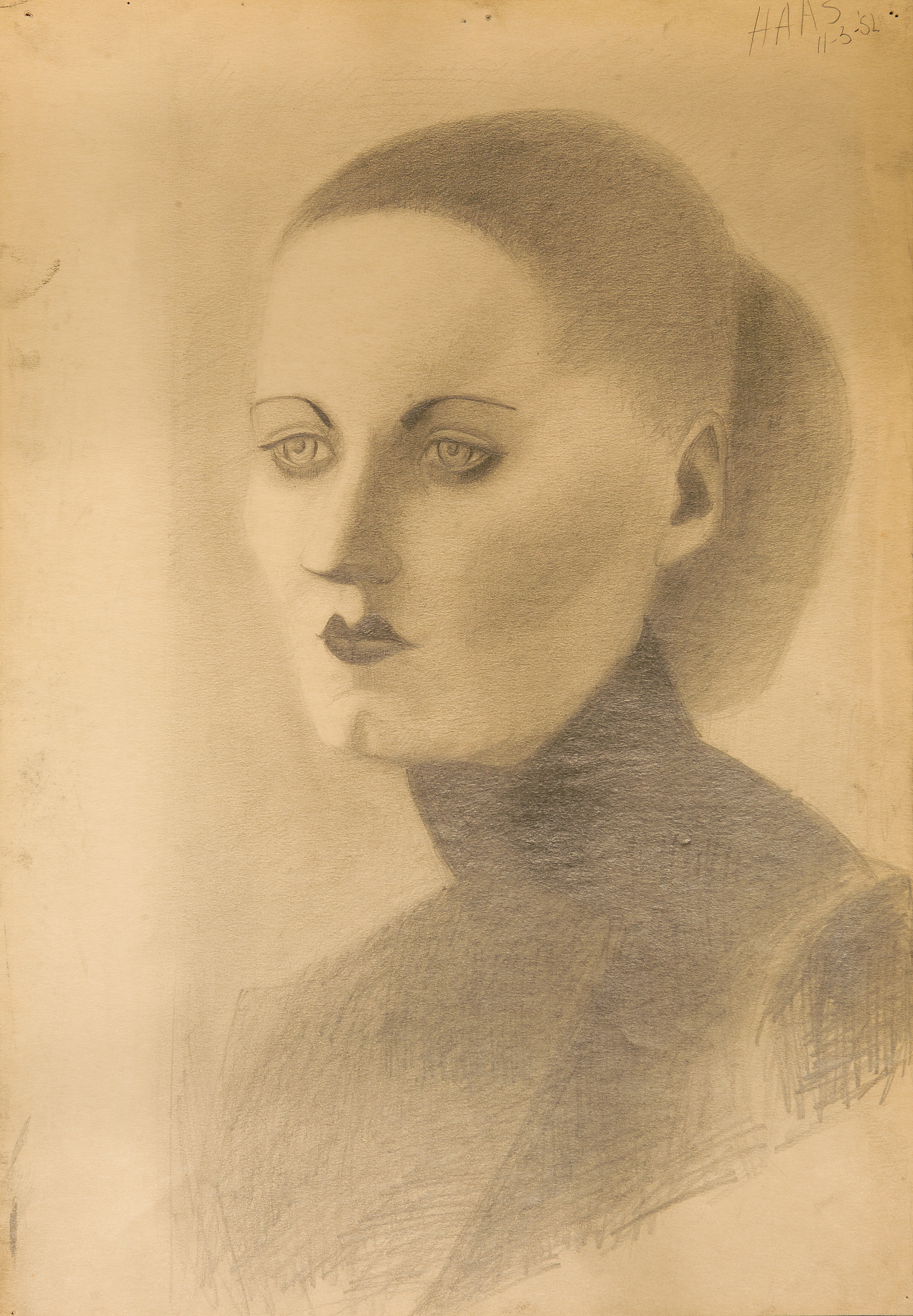 portretstudie vrouw